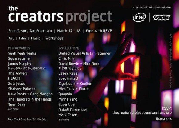 Creators Project San Francico
