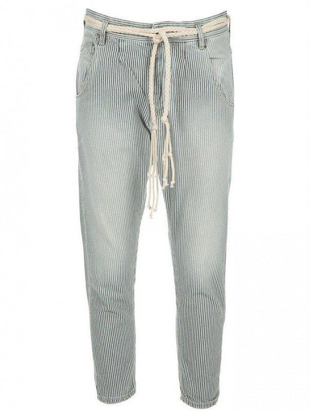 November striped jeans