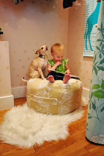 pouf kiddo seating